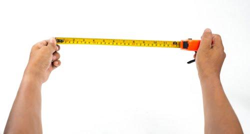 Grab your measuring tape